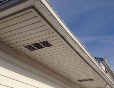 Example Of Individual Soffit Vent