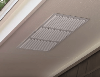 Installed Vent