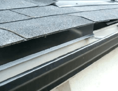 Installing A Drip Edge On Existing Roof