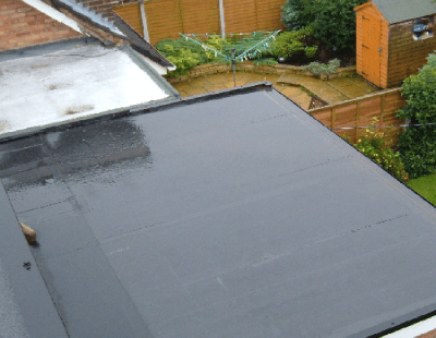 Newly Tar Treated Roof