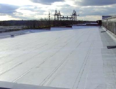 Low Slope Peel And Stick Roof