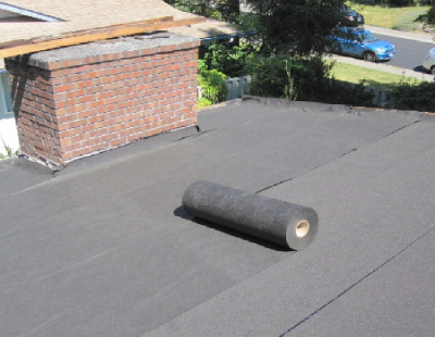 Rolling Out Peel And Stick Roofing
