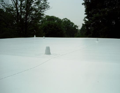 Self Adhesive On Flat Roof