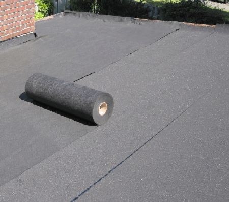 Rolled Roofing Layers