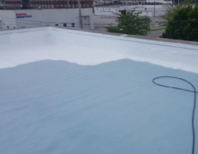 New Layer Of Spray Foam Roofing