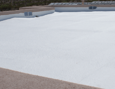Newly Restored Spray Foam Roofing