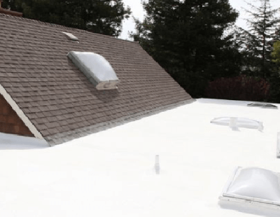 SPF Roofing On Flat Roof