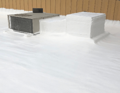 SPF Roofing Applied To Roofing Memembers