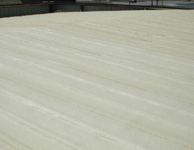 Spray Foam Roofing On Low Incline Roof