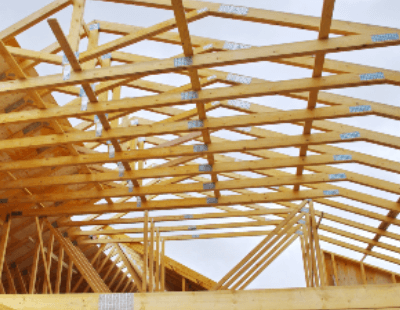 Example Of New Roof Installation